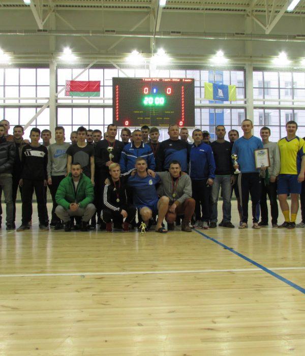 Команды победители Кубка Столбцовского района по мини-футболу 2016