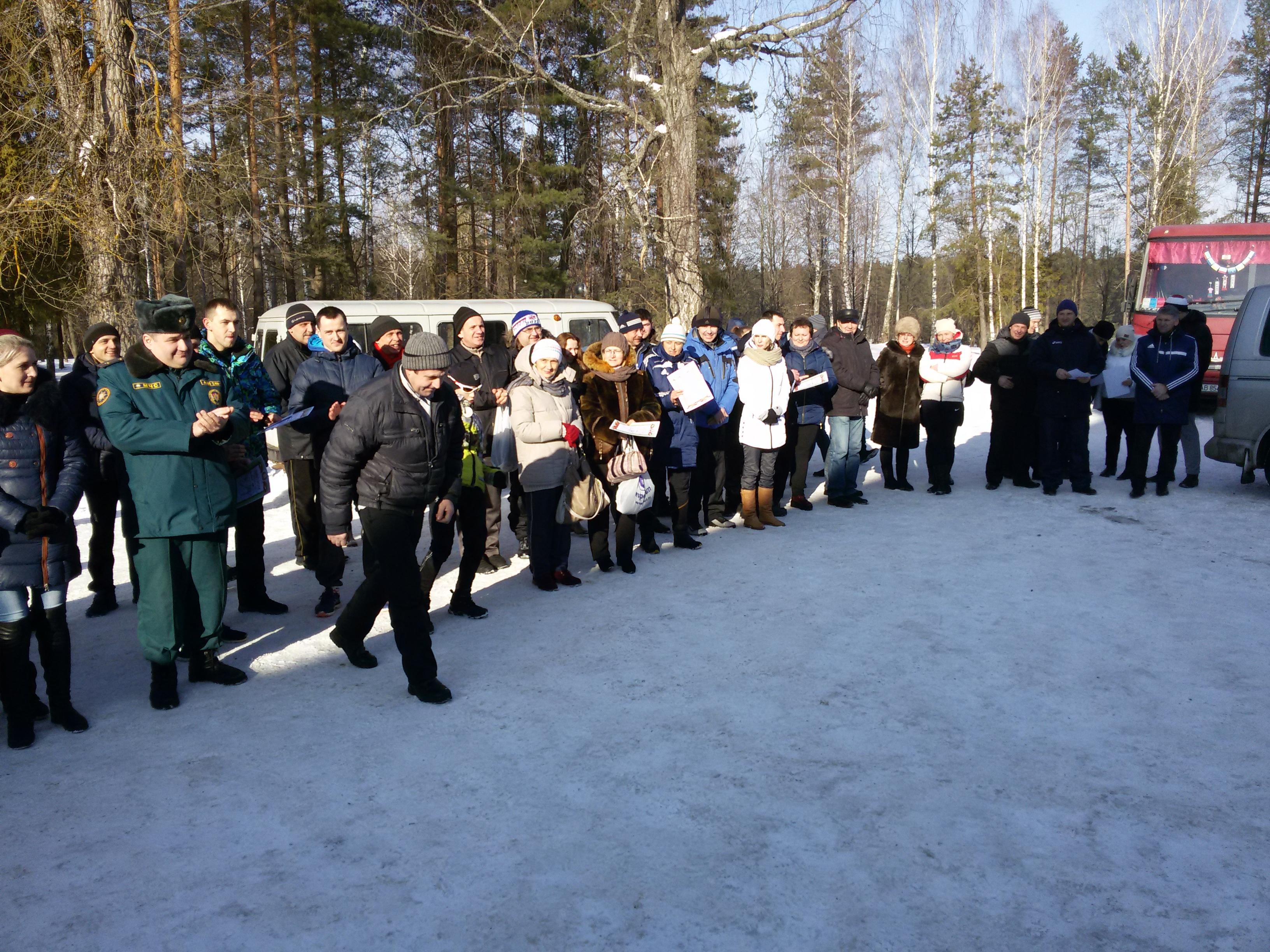 Столбцовская лыжня 2017