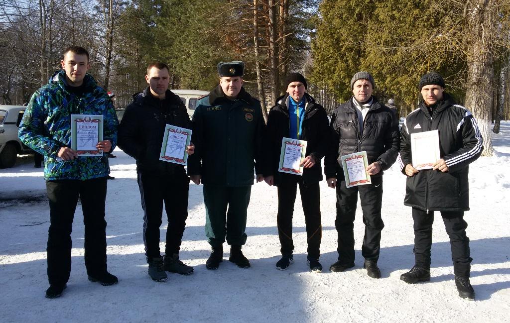 Команда РОЧС - серебряные призеры