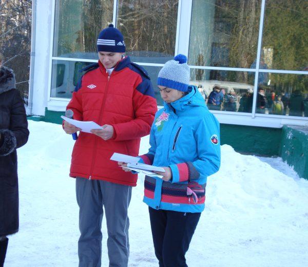 Столбцовсая лыжня 2017, награждение победителей