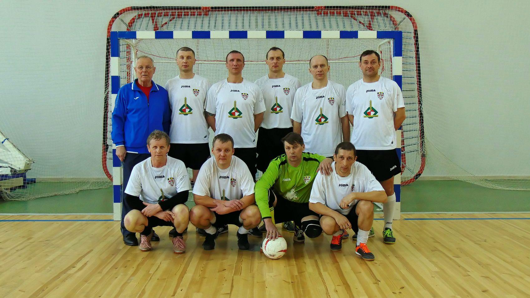 Команда из города Солигорск